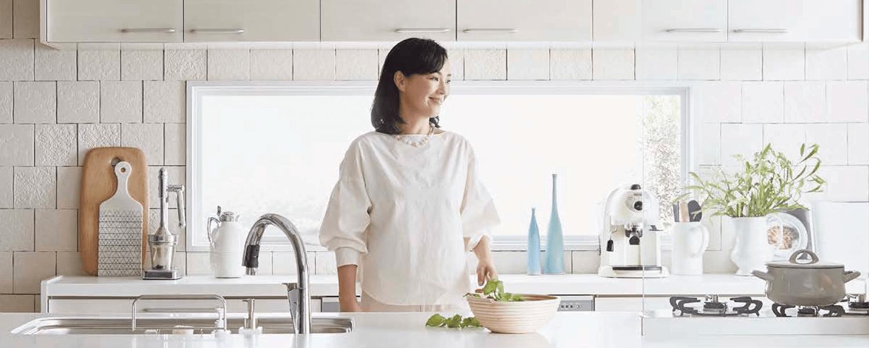 アクアガードで使い勝手の良さと美しさを兼ねたキッチンを!